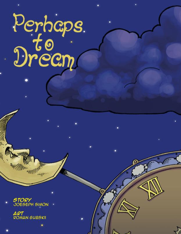 Perhaps to Dream Cover